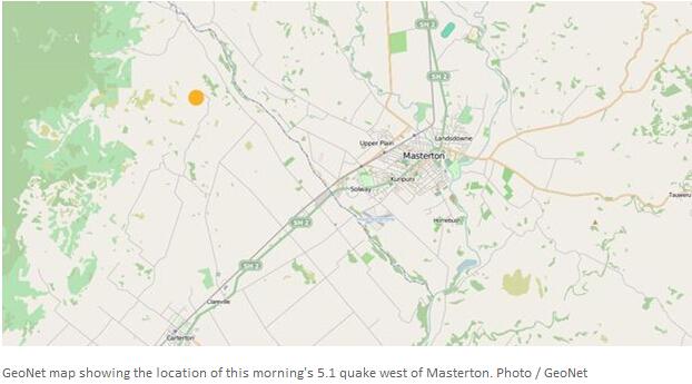 新西兰北岛发生5.2级地震 首都惠灵顿震感强烈